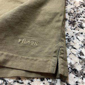 New! Men's Filson Polo Button-Up Polo Top